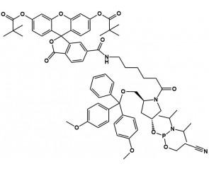6-Carboxyfluoresceinamide phosphoramidite Pro