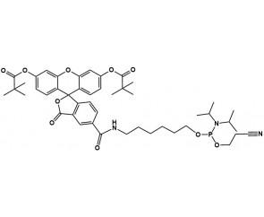 5-Carboxyfluoresceinamide phosphoramidite, pivaloyl protection